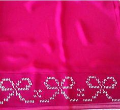 HUZUR SOKAĞI (Yaşamaya Değer Hobiler) Weaving Patterns, Hand Embroidery, Towels, Cross Stitch, Bathroom Towels, Hardanger, Punto De Cruz, Dots, Needlepoint