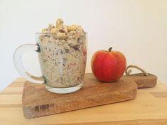 I Love Health   Bircher oatmeal with apple recipe   http://www.ilovehealth.nl