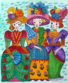 """My coloring of """"Day of the Dead"""" book by Sarah Walsh Hand Made Greeting Cards, Making Greeting Cards, Day Of The Dead, Vera Bradley Backpack, Coloring Books, Handmade, Painting, Art, Day Of Dead"""