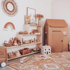 Playroom and Nursery Inspo Montessori Playroom, Baby Playroom, Playroom Decor, Childrens Room, Playroom Organization, Toy Rooms, Big Girl Rooms, Nursery Inspiration, Nursery Ideas