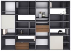 Customised wall systems from BoConcept