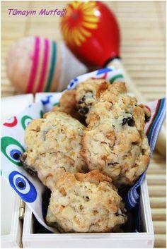 Mısır Gevrekli Kuru Üzümlü Kurabiye Cauliflower, Pasta, Cookies, Vegetables, Desserts, Food, Crack Crackers, Tailgate Desserts, Cauliflowers