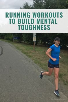 Struggle with pushing at the end of the race? You might need to improve your mental strength. Try one of these running workouts to build mental toughness. Running On Treadmill, Running Workouts, Running Tips, Running Training, Running Plans, Running Humor, Brain Training, Training Plan, Workout Ideas