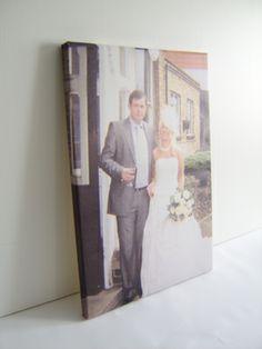 Wedding photos canvas