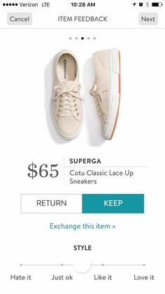 Dear Stitch Fix Stylist - cute fashion sneakers for wearing with ankle length jeans.