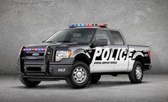 Ford lança picape F-150 SSV para uso da polícia e bombeiros.