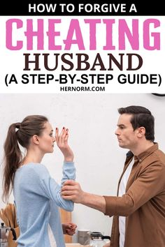 As it's completely possible for people to change for the better and for good, it's normal to want to give them a second chance. In cases of affairs, it all starts with forgiveness. As it's very difficult to do this, you can start by following this step-by-step guide to forgiving your cheating husband until you are ready to try again. Click to keep reading. Forgiving Yourself, Trust Yourself, Forgive And Forget, Asking For Forgiveness, We All Make Mistakes, Happy Again, Relationship Bases, Behavior Change, Passive Aggressive