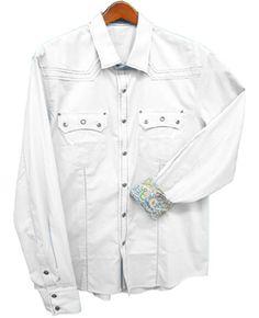 Toku Clothing White Eyelet Shirt