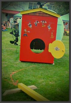"""Mickey Mouse Clubhouse ~ """"Mickey Park"""" ~ Party Props"""