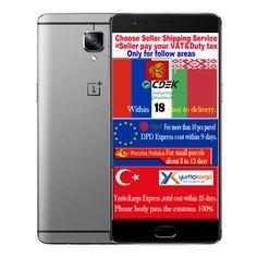 """Gốc oneplus 3 ba qualcomm snapdragon 820 6 gb ram 64 gb rom mobile điện thoại di động 5.5 """"4 Gam LTE FDD OTA Toàn Cầu ROM Điện Thoại Thông Minh"""