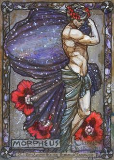Morpheus was the god of dreams in greek mythology. Description from pinterest.com. I searched for this on bing.com/images