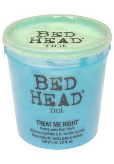 Bedhead TIGI  http://www.zalora.com.ph/Bedhead-Treat-Me-Right-Peppermint-Hair-Mask-%2F-750ml-52107.html