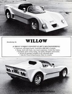 1980 Willow Sports Car Kit  This is one I would like to see sometime