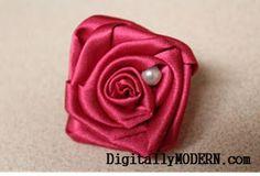 Simple Silk Flower Tutorial