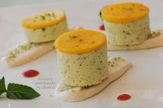 Dessert Christophe Felder parfait basilic citron