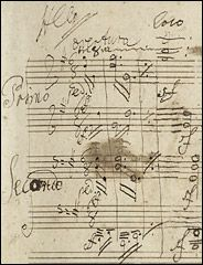 "a working manuscript score for a piano version of Beethoven's ""Grosse Fuge,"" a monument of classical music. And it was in the composer's own hand, according to Sotheby's auction house. The 80-page manuscript in mainly brown ink - a furious scattering of notes across the page, with many changes and cross-outs, some so deep that the paper is punctured - dates from the final months of Beethoven's life."