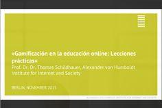 Gamificación en la educación online: Lecciones prácticas