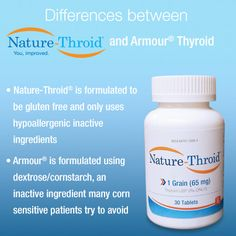 Differences between Nature-Throid and Armour beat Hypothyroidism http://www.beachbodycoach.com/ANNANICOLE626
