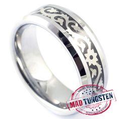 #tungstenrings Silver Tungsten Rings at http://madtungsten.com/product-tag/tungstenrings/?utm_source=googleplus&utm_medium=organic&utm_term=tungstenrings&utm_campaign=19082014