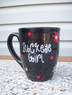 My Sister Mary needs to make this for me!!  I Am A Buckeye Girl And Proud Of It-:)!!