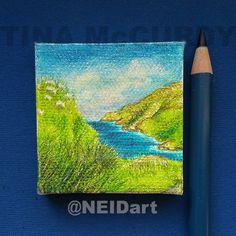 Spring Pasture by Tina McCurdy of NEIDart