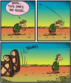 Free Range Comic Strip, August 09, 2014 on GoComics.com
