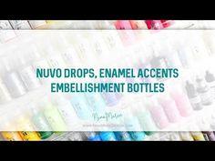 Craft Room Organization Quick Tip: Nuvo Crystal Drops, Enamel Accents & Embellishment Bottles | Nina-Marie Design