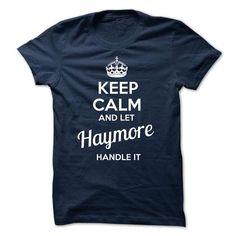 cool It's a HAYMORE thing, Custom HAYMORE Name T-shirt
