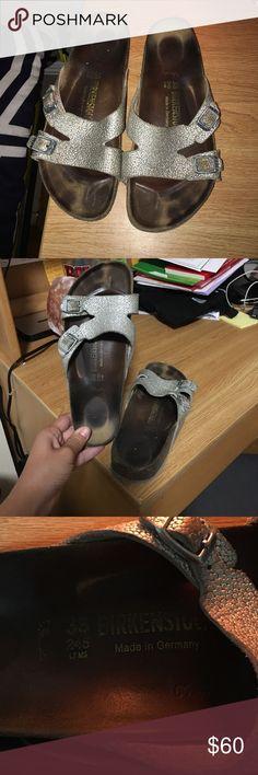 Birkenstocks Broken in but still have a lot of life left in them. Birkenstock Shoes Sandals