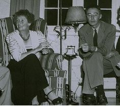 """More great women from Los Alamos history! Today, Dorothy McKibben -- the """"gatekeeper"""" to Los Alamos -- was the first point of contact for all who worked on the Manhattan Project. She was appointed by Robert Oppenheimer (in photo) and became one of the most admired women of Project Y. #womenshistory"""