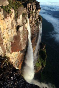 Angel Falls, Venezuela - just the picture gives me vertigo!