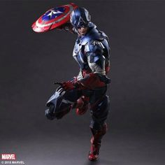 Square Enix's Captain America Figure Revealed | Comicbook.com