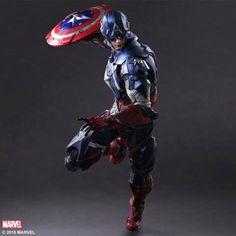 Square Enix's Captain America Figure Revealed | Comicbook.com