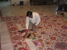 Creating a custom rug. Custom Rugs and Carpets by www.igotyourrug.com