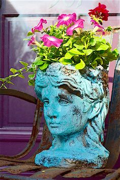 Garden Accents with Metal Effects Patinas by Modern Masters | How-to DIY Tutorial