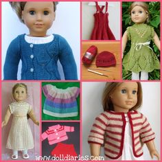 Free Doll Clothes Patterns Free Vintage Knitting Patterns