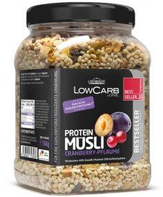 low carb Protein-Müesli Layenberger, neu im Sortiment sofort lieferbar