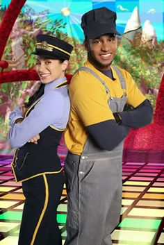 Choo-Choo Soul - one of Landon's favorite kid groups! The guy looks a little like LaMarcus Aldridge! Kind of crazy!