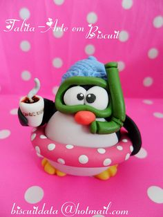 cool penguin by Biscuit da Ta, via Flickr
