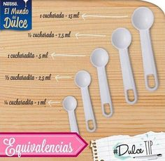 Equivalencias Cooking Tools, Cooking Recipes, Cooking Measurements, Light Cakes, Cake Decorating Techniques, Decorating Cakes, Baking Tips, Fondant Cakes, Food Hacks