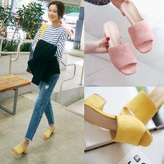 $12.99 (Buy here: https://alitems.com/g/1e8d114494ebda23ff8b16525dc3e8/?i=5&ulp=https%3A%2F%2Fwww.aliexpress.com%2Fitem%2F2016-summer-women-medium-heel-slippers-wide-heel-summer-square-toe-sandals-women-s-open-toe%2F32669545437.html ) 2016 summer women medium heel slippers wide heel summer square toe sandals women's open toe all-match shopping shoes pumps for just $12.99