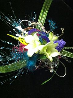 Prom Flowers Idea Florists | Prom corsage Bedazzled Flower Shop, Sharpsburg Ga