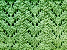 eyelet-lace-stitches | Knitting Stitch Patterns