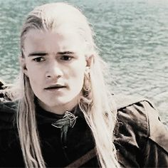 What I love about this scene is that Legolas can't believe Aragorn has decided not to follow Sam and Frodo. He thinks that they've failed and that the Fellowship was for nothing. And then he looks to Aragorn to tell him what to do next. That just goes to show how much the elves believed in Aragorn.