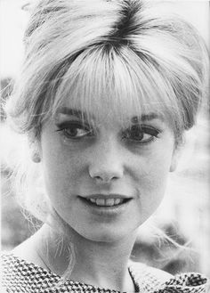 A young Catherine Deneuve.
