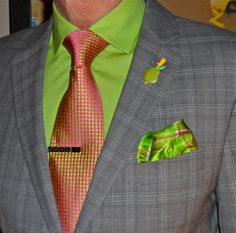 Nautica suit, DKNY shirt, Ted Baker tie…