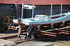 Chesapeake Bay Boats: Around the Boatyard - an Update