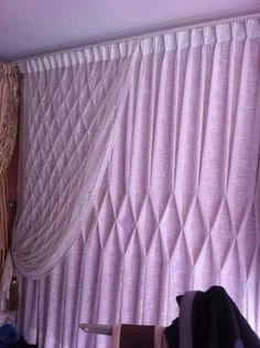 Take a look at this idea gallery of shutters, blinds, shades, and a lot more. All the home window covering ideas in one area. Baby Room Curtains, Cute Curtains, Elegant Curtains, Beautiful Curtains, Modern Curtains, Hanging Curtains, Drapes And Blinds, Wood Blinds, Drapes Curtains