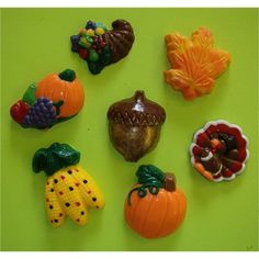 """Forms & Supply, Inc. from Charlotte NC USA. Bite sized autumn shaped chocolate and candy coated novelties are packaged in a clear, cello 2"""" wide heat sealed bag with """"Sweet Bites"""" header card attached. (may be customized)"""