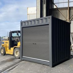 Small Shipping Containers, Roller Doors, Container Architecture, River House, New Builds, Melbourne, Small Spaces, Deco, Band Workouts